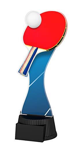 Trophy Monster - Plato para Tenis de Mesa (190 mm), diseño de trofeos