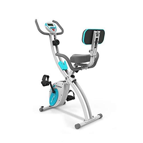 NRR Bicicleta de Ejercicio magnética Plegable magnética, Cuerpo Entero de Entrenamiento Integral Peso de rodamiento 110kg Ciclismo Interior