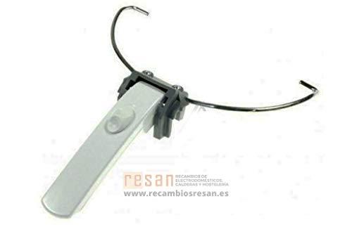 De Longhi 5512500139 ORIGINAL Korbgriff Halter Handgriff Korbhalterung Griff mit Schiebeknopf Fritteuse