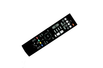 HCDZ Replacement Remote Control for Yamaha Aventage YHT-4930 YHT-4930UBL YHT-5920 YHT-5920UBL RAV534 HTR-3068 HTR-4068 HTR-4069 5.1-Channel Home Theater AV Receiver