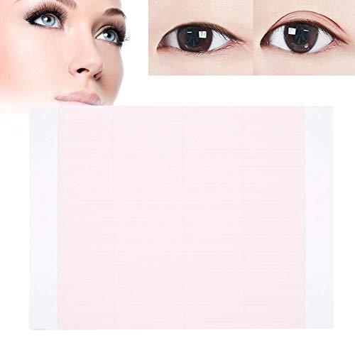 52 stks Ogen Stickers Onzichtbare Dubbele Eyelid Tape Natuurlijke Oog Cosmetische Make-up Gereedschap Roze
