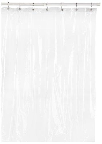 Carnation Home Fashions 8 Gauge Vinyl Hotel Liner, Super Clear
