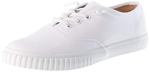 Timberland Damen Newport Bay Bumper Toe Oxford Gymnastikschuhe, Weiß (Bianco (White) Tb0a28m81001), 39 EU
