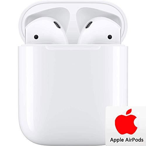 Auriculares inalámbricos Bluetooth 5.0 con cancelación de Ruido, Auriculares Deportivos táctiles Inteligentes a Prueba de Agua, con Estuche de Carga portátil para Samsung/iPhone/AirPods