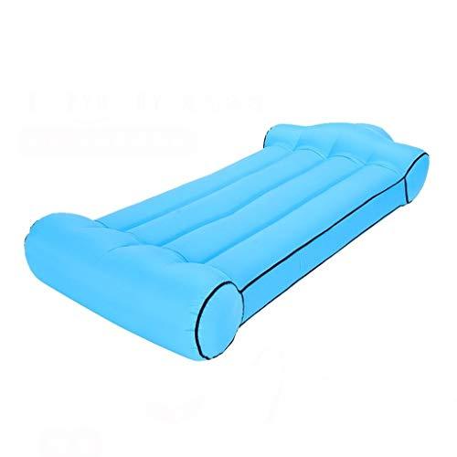 ZXC Home Sofa, opblaasbaar, voor buiten, voor thuis, van nylon, opblaasbaar, lekvrij, hoog draagvermogen, 4 kleuren naar keuze