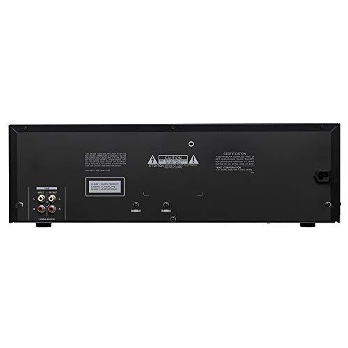 Tascam CD-A580 lettore CD CD recorder Nero