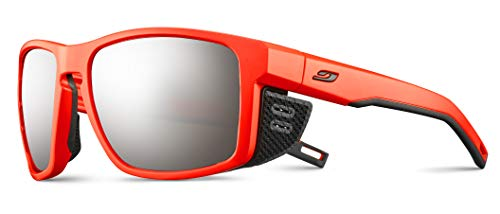 Julbo Shield - Gafas de sol para hombre, naranja neón, FR: L (talla fabricante: L)