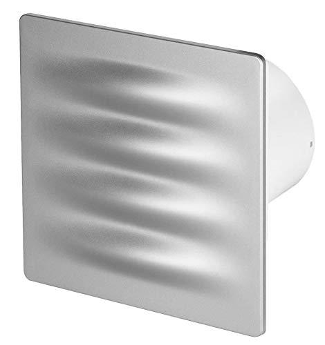 100mm Feuchtigkeitssensor Dunstabzugshaube Satin ABS Frontblende VERTICO Wand Decke Belüftung