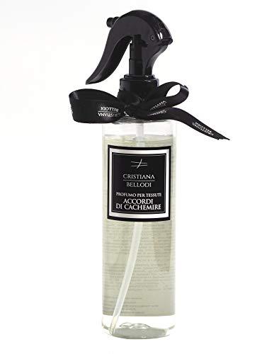 Spray desinfectante perfumado para tejidos y superficies 250 ml alcohol al 90% (Accordi di Cachemire)