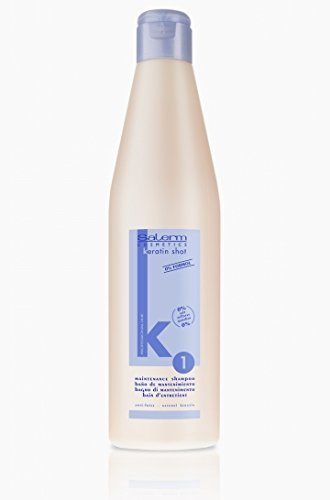 SALERM Maintenance KERATINA SHAMPOO 500 ml Shampoo Keratin Shot 1 Lifting Hair by Salerm