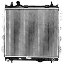 TYC 2298 Chrysler PT Cruiser 1-Row Plastic Aluminum Replacement Radiator