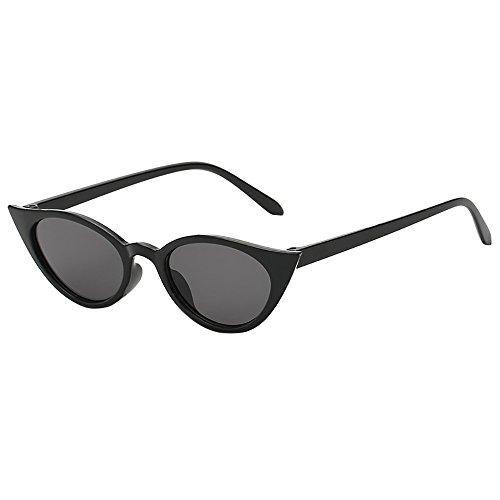 JiaMeng Gafas de sol Polarizadas Hombre & Mujer Gafas de Sol de Forma Irregular de Ojo de Gato Vintage Gafas Retro Unisex JMMJ46