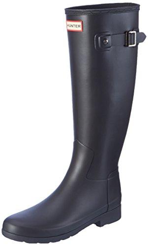 Hunter Original Refined, Botas de Agua Mujer, Negro (Black), 42 EU