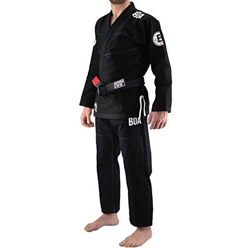 Bjj Gi Kimono Bõa Armor De Competição V3 Negro - Negro, A3