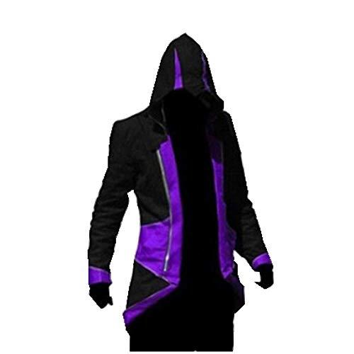 charous Karous Assassin Killer, Cosplay-Kostüm, Halloween-Kostüm, Jacke, für Damen und Herren, 7 Farben Gr. X-Large, Stil Nr. 4