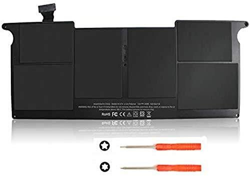 Onlyguo 7.3V 35Wh A1370 A1375 Reemplazo de la batería del portátil para MacBook Air 11 Inch Battery, Fit for 11-Inch MacBook Air 2010 A1370 Battery (Only for 2010 Version) MacBookAir3,1 MC505 MC906