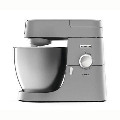 Kenwood BXX13995778 Chef XL KVL4100S Stand Mixer-Silver, Iron
