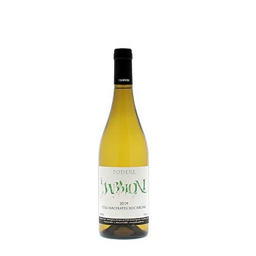 Podere Sabbioni Ribona Colli Maceratesi DOC 2019 bottiglia vino bianco da 0,75 L