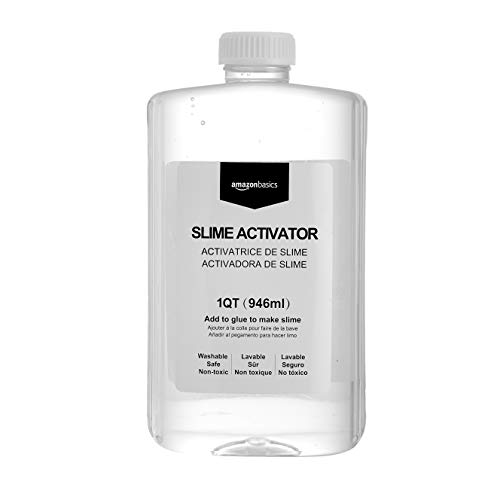 AmazonBasics Slime Activator Solution 1 Quart (946ml)
