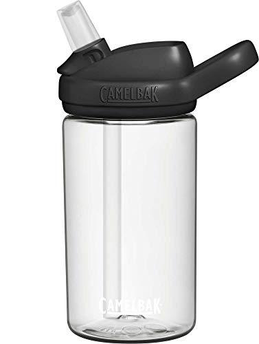 CamelBak Eddy+ Kids BPA-Free Water Bottle with Straw, 14oz, Clear...