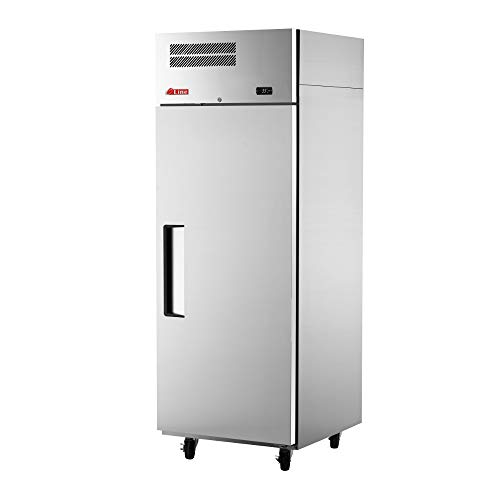 """Turbo Air ER24-1-N Reach-In Single Section E-Line Refrigerator, 28-3/4""""W & Solid Door"""