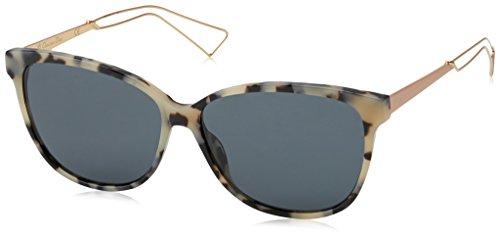 Dior DIORCONFIDENT2 BN RKA Gafas de sol, Rosa (Havana Rosegold/Dark Grey), 57 para Mujer