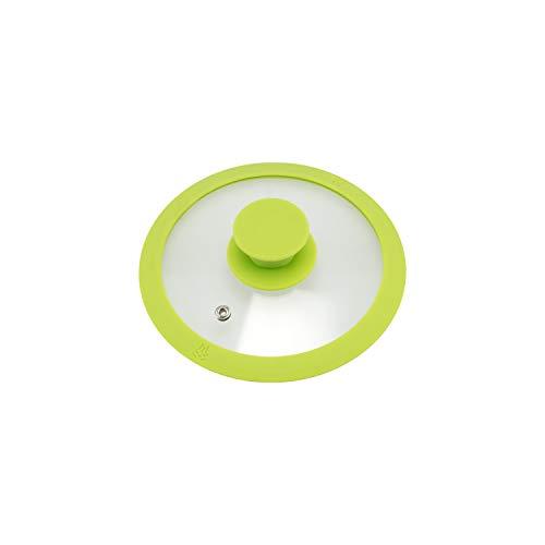 bremermann - Tapa de Cristal con Borde de Silicona para ollas y sarten