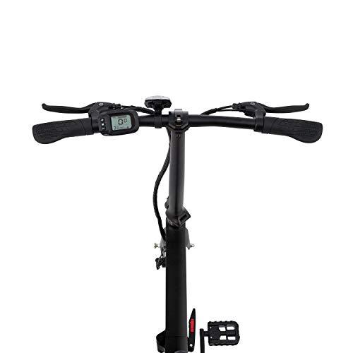 Marktneuheit 2019 Elektro Klapprad bis zu 50km Reichweite und 25km/h Geschwindigkeit überall Mitnehmen Faltrad e-Bike 16