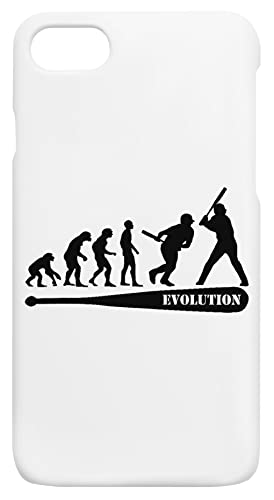 Béisbol Evolución iPhone 7, 8, SE 2020 Protector Carcasa de Telefono Protective Phone Case