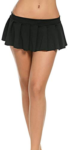 In One Clothing Minifalda Sexy Corta para Mujer.
