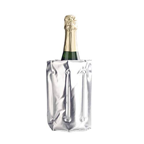 Lacor - 62325 - Funda enfriador botellas - Gris