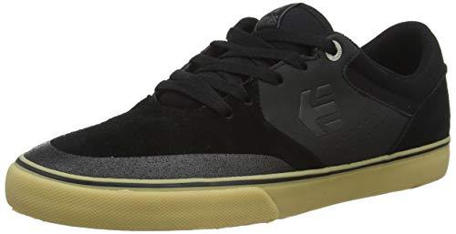 ETNAB|#Etnies Unisex-Erwachsene Marana Vulc Skateboardschuhe, Schwarz (967-Black/Gum/Silver 967), 40 EU