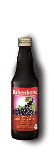 Rabenhorst Schwarzer Johannisbeersaft, Bio, 330 ml