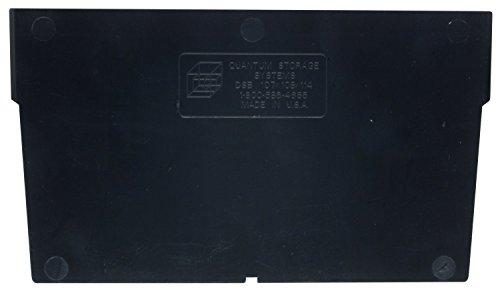Quantum Storage Systems DSB107 Plastic Divider Designed for Economy Shelf Bins 11 x 8 x 4 Case of 50