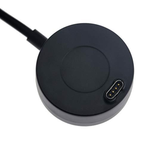Charger Compatible with Garmin Fenix 6/6S/6X, Fenix 5/5S/5X Charger Charging Stand, Charging Dock Station Cradle Holder Accessory with 1m USB Cable for Vivoactive 3 Vivoactive 4 Smartwatch