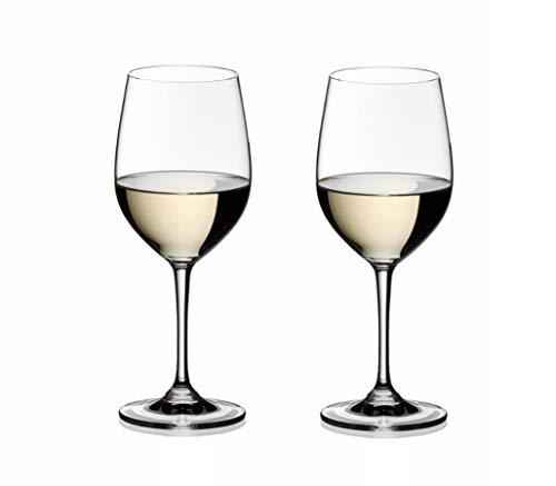 RIEDEL 6416/05 Vinum Viognier Chardonnay, 2-teiliges Weißweinglas Set, Kristallglas