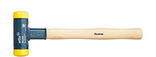 Wiha Schonhammer rückschlagfrei mit Hickory-Holzstiel (02094) 35 mm
