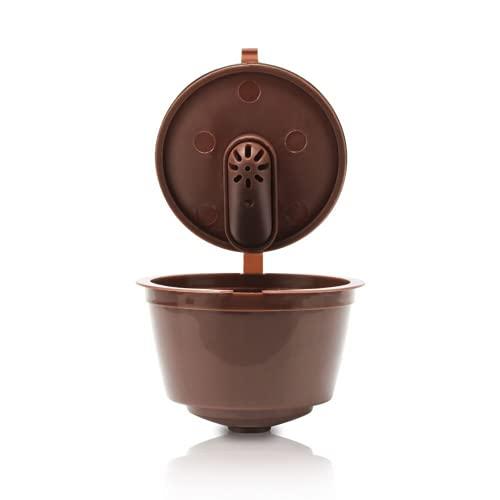 N-K Wiederverwendbare Kaffeekapseln für Kaffeemaschine mit Löffelbürste Normale Version Dauerhaft