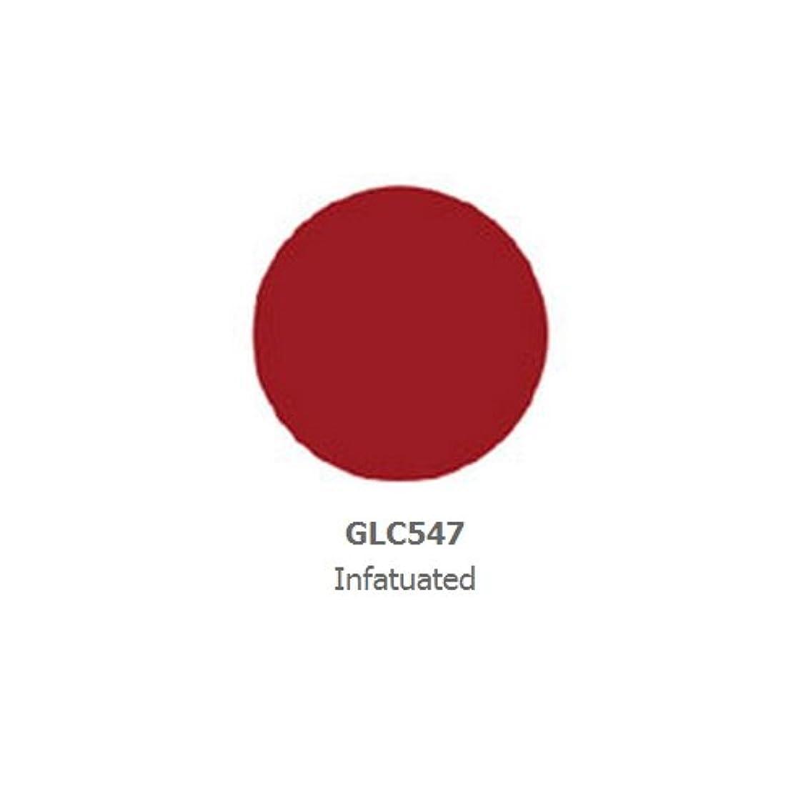 怪物移民一掃する(6 Pack) LA GIRL Luxury Creme Lip Color - Infatuated (並行輸入品)