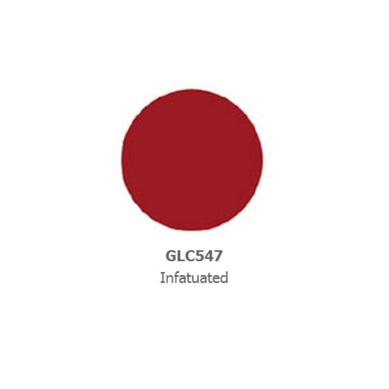キャメルドック評価(6 Pack) LA GIRL Luxury Creme Lip Color - Infatuated (並行輸入品)