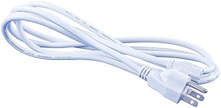 Omnihil 8 Feet AC Power Cord Compatible with ASUS G11DF-DBR5-GTX1060 Desktop PC, AMD Ryzen 5 Processor, GTX 1060 - White