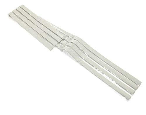 Mastice per cucina, lavelli e piani cottura ad incasso confezione 4 strisce da cm 80 circa stucco per top