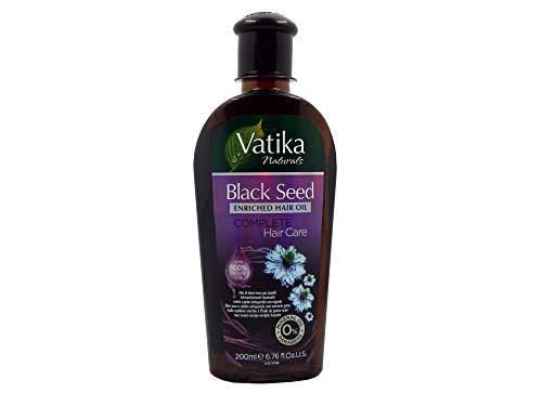 Dabur Vatika Black Seed Enriched Hair Oli - Haaröl 200ml