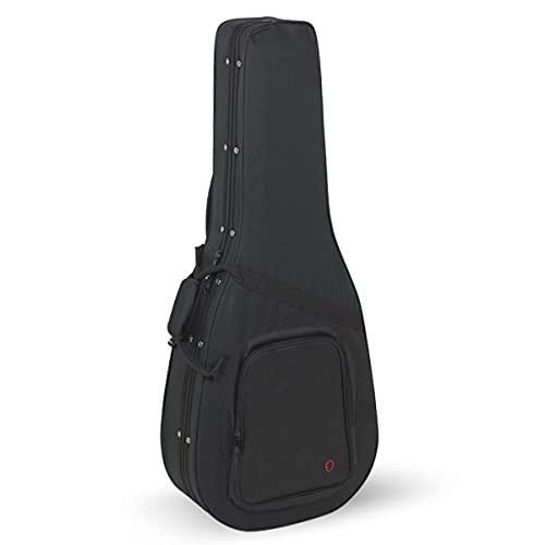ORTOLA - Estuche Guitarra Acustica Styrofoam Ref. Rb731 Interior Naranja Sin Logo - 8412-001-OR