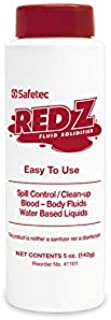 Safetec Red Z Spill Control Solidifier 5oz. Shaker Top Bottle (4 Each)