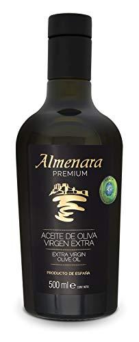 Almenara - Aceite de Oliva Virgen Extra Premium en Botella de Cristal 500 ML