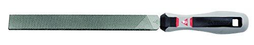Bellota 40028EMB Lima mecanico Plana paralela Mango Bimaterial 8 entrefina, Standard, 200 mm