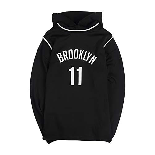 WFGY 11# Netten Irving Hooded Jersey, Zwarte trui voor heren