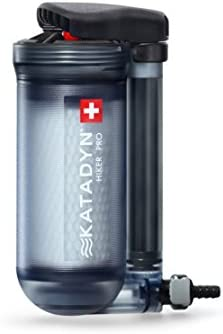 Katadyn Water Filter, Long Lasting for Personal or Small Group Camping, Backpacking or Emergency Preparedness Portable Micro Filter