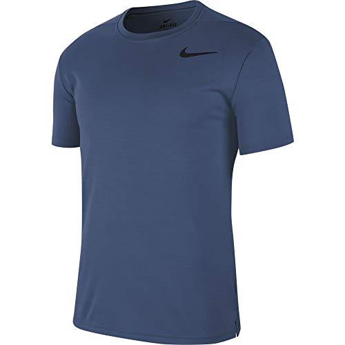 NikeCourt Dri-FIT Challenger T-Shirt de Tennis pour Homme Bleu Marine Taille XL